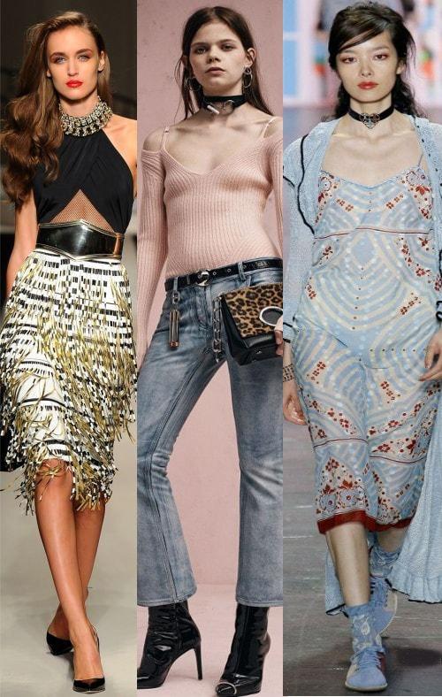 Модные чокеры 2017 работа девушке моделью кириллов